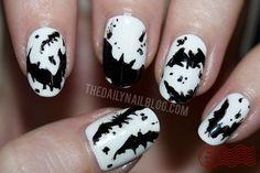 Nail Art - batman