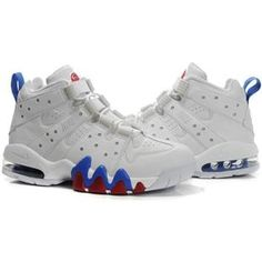 Charles Barkley Shoes Nike Air Max2 CB 94 White/Blue