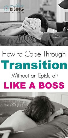 Natural Childbirth tips! Wondering how to cope through labor and delivery without an epidural? Here's what you can expect during the transition phase of labor and how to cope like a boss. Birth Affirmations, Pregnancy Labor, Vegan Pregnancy, Pregnancy Checklist, Happy Pregnancy, Pregnancy Guide, Second Pregnancy, Pregnancy Announcements, Water Birth
