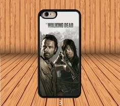 Daryl Dixon And Rick Grimes for iPhone 5/5S/SE Hard Case Cover  #designyourcasebyme