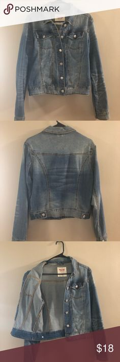 6907fde0c60 Denim Jacket ⭐️Great Condition⭐ Worn - Holds up very nicely. Stretchy Denim