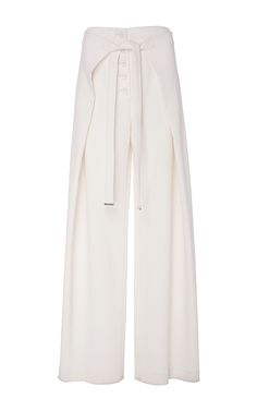 PROENZA SCHOULER Wide Leg Wrap Pants. #proenzaschouler #cloth #pants