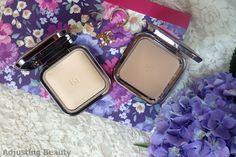 Review of Kiko Radiant Fusion Baked Powder - 01 Ivory and Kiko Flawless Fusion Bronzer Powder - 01 Natural Tan