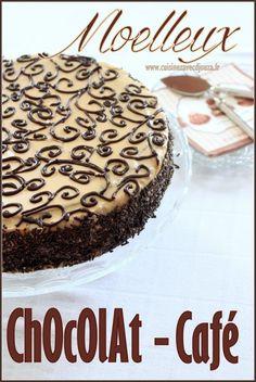 Moelleux chocolat café Chocolate Cafe, Cake Chocolat, Tiramisu, Biscuits, Ethnic Recipes, Voici, Food, Grands Parents, Facebook