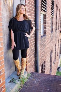 Midnight Rider Tunic Top