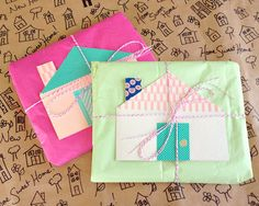 Omiyage Blogs: Send Pretty Mail #26/27 - Happy Home Mail