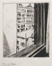 Edward Hopper, From My Window on ArtStack #edward-hopper #art