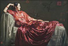jiang guo fang paintings - Buscar con Google