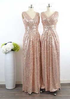 sequin bridesmaid dresses, long bridesmaid dress, cheap bridesmaid dress, champagne gold bridesmaid dresses, sparkle bridesmaid dress, E154 · lovebridal · Online Store Powered by Storenvy Off Shoulder Bridesmaid Dress, Maternity Bridesmaid Dresses, Champagne Bridesmaid Dresses, Wedding Dresses, Champagne Dress, Bridesmaid Ideas, The Dress, Dress Long, Marie