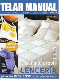 Revistas de Manualidades Para Descargar: Telar Manual Nº 10
