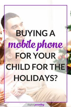 I won't give you a lecture on what age is the appropriate age for purchasing a mobile phone for your child, but I will point you to a fantastic resource where you can ask yourself the following questions posed by Common Sense Media..