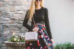 If you know Krystal, you know she's always up for a good maxi and a good floral. She gets BOTH with our Let's Celebrate Floral Maxi Skirt. We've teamed up with A Pinch of Lovely to offer you 15% off your purchase + free shipping until 1/6 when you use code PINCHME!