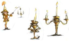 Beauty and the Beast - Concept Art - Disney