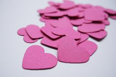 200 Coriandoli Cuore Fuxia Matrimonio by MilenaSupplies on Etsy, €2.40