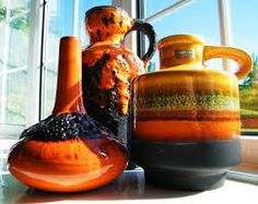 Image result for mid century  west german pottery