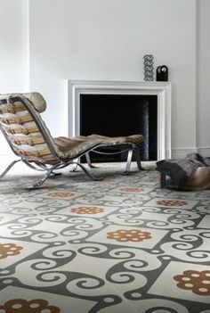 See tile designs from brazen stripes and plaids to delicate florals, as manufacturers around the world show their latest