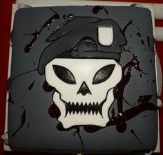 Call of duty Black OPS By RiotGrrrlCakes on CakeCentral.com