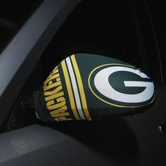 Green Bay Packers Car Mirror Covers Defiantly need this!