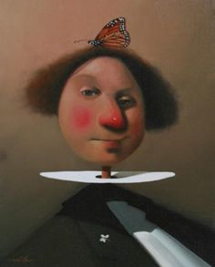 joe mcfadden - witty, clever and technically a great painter