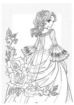 anime coloring page nour serhan uploaded this image to princess world 02 colouring book see the album on photobucket