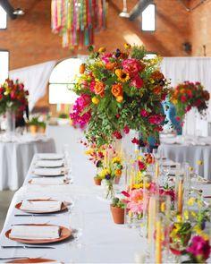 Somer Khouri & Lisa Costin (@acharmingfete) • Instagram photos and videos  #wedding #acharmingfete #realweddings #outdoorwedding #weddinginspriration #decor #florals #theknot #cincodemayo #colorfulwedding #tablescape Floral Wedding, Wedding Colors, Wedding Ideas, Prom Themes, Centerpieces, Table Decorations, Wedding Receptions, Beautiful Couple, Real Weddings