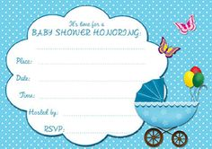 Free Editable Baby Shower Invitation Cards Templates Printable Invitations