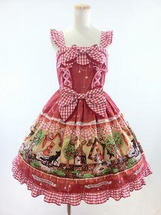 Red Ridding Hood Dress