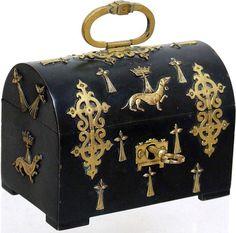 Antique French Empire Bronze and Ormolu Box #antique #vintage #box