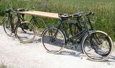folded stretchers with straps - Αναζήτηση Google WW1 Royal Enfield Bicycle Ambulance The Online Bicycle Museum www.oldbike.eu