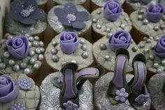 shoe cupcakes | by elizabethscakeemporium