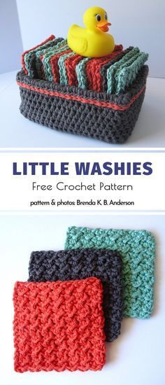 Little Washies Free Crochet Pattern. Little washies are great alternative for exfoliators. Rub your face with them, and they will make your blood flow, giving you a healthy glow. for the home bathroom Crochet Bathroom Accessories Free Patterns Crochet Kitchen, Crochet Home, Crochet Gifts, Crochet Baby, Free Crochet, Knit Crochet, Crotchet, Double Crochet, Ravelry Crochet