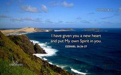 Ezekiel 36:26-27 - Promise #10 - 365 Promises