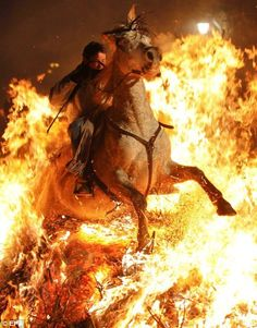 Rider on the firestorm