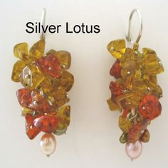 Handcrafted in Nepal - mixed gemstone and sterling silver earrings. This can be your reward! http://c-fund.us/83f