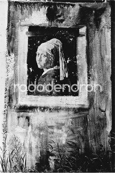 Limited, signed art prints by Bruno Bourel. You can order them only in our webshop : http://rododendronart.com/suburban-vermeer Budapest, Hungary, 1991