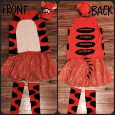 Running is what TIGGERS do best. Disney 5k, Disney Races, Disney Running, Disney Ideas, Disney Trips, Halloween Running Costumes, Run Disney Costumes, Girl Costumes, Costume Ideas
