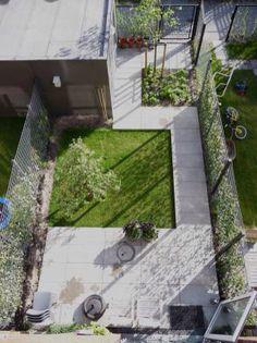 Grasveld kleine tuin