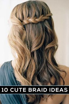 cute braided hairstyles @hannahzachlove I love this! Please teach me!!
