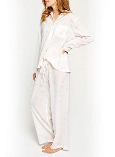 df057c5b791 Pour Les Femmes Floral-Print Cotton Pajama Set  Femmes Floral Pour