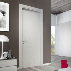 AMBIENTE Modelo 988/ LACADA BLANCA / Colección Lacada / Puertas de interior Sanrafael
