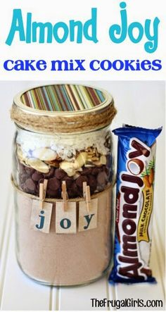 Almond joy cookie mix