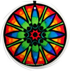 """Mandala """"Kwiat lotosu-energia zmiany""""."""