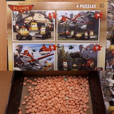 A woman from the village of Niedorp in Noord-Holland province has made a surprise discovery in a long-forgotten jigsaw puzzle box – 530 orange ecstasy pills. According to local policeman Bas Dirkmaat, the box was delivered to the woman's home four years ago, but it was not addressed to her, her family or neighbours. After asking around, she put the box in her garage for safe-keeping, where it has remained since then. She came across the box again while tidying...