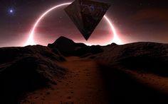 """Alien Landscape"" by Erik van Ooijen.  #sciencefiction #scifi #erikvanooijen"