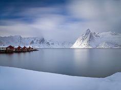 Hamnøy Harbour by antonyspencer, via Flickr