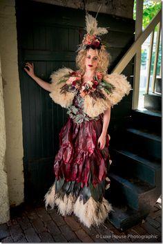 flower dress by Amanda Tucker of Blossoms at Biltmore Park