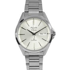 Young Fashion, Stainless Steel Case, Chronograph, Quartz, Watches, Crystals, Classic, Stuff To Buy, Accessories
