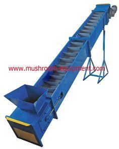 scraper conveyor for mushroom equipment vip@satrise.com