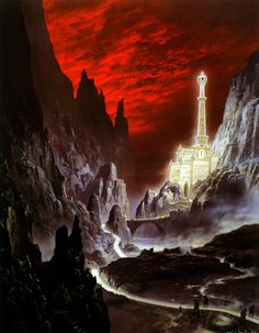 The Tower of the Moon by Ted Nasmith