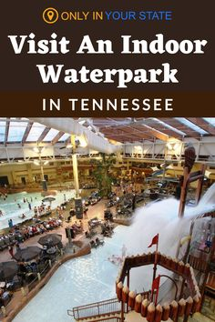 Make winter feel like summer at the largest indoor waterpark in Tennessee. It's a great day trip or weekend adventure. Kids and adults alike will enjoy the slides, rides, lazy river, and more, making it perfect for family fun. Winter Fun, Winter Travel, Wilderness At The Smokies, Places To Travel, Places To Go, Adventure Kids, Great Smoky Mountains, Vacation Destinations, Day Trip